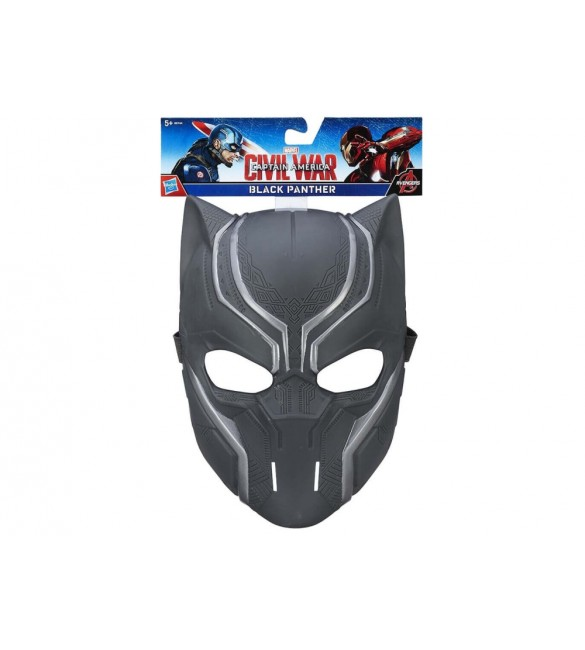 Marvel Avengers Civil War Black Panther Mask