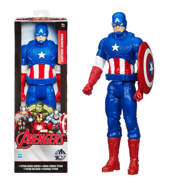 Avengers Titan Hero Figure - Captain America