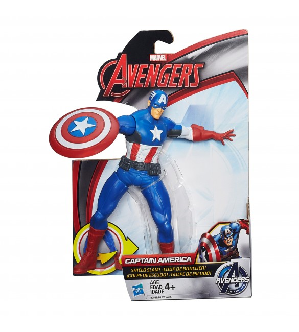 Avengers Captain America 15Cm MIGHTY BATTLERS