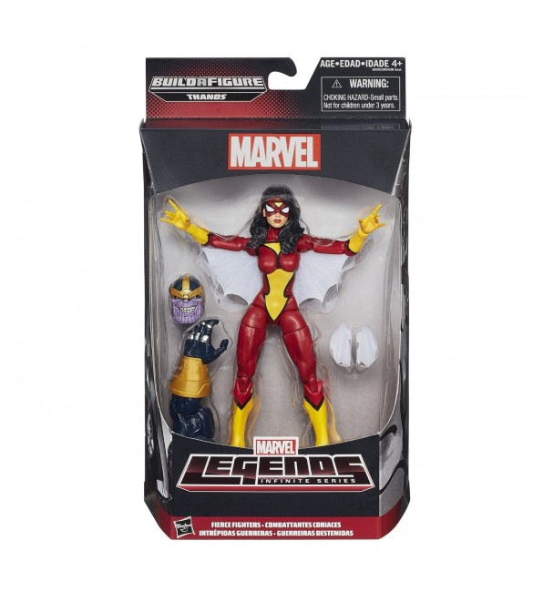 Avengers Spider Woman 15Cm INFINITE SERIES LEGENDS