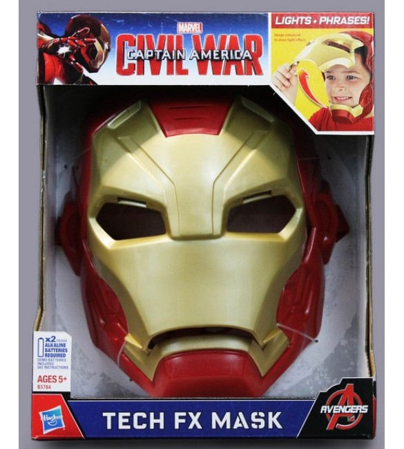 MARVEL CIVIL WAR IRON MAN TECH FX MASK