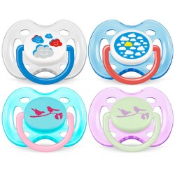 Avent Classic Pacifier Fashion 0- 6 Months