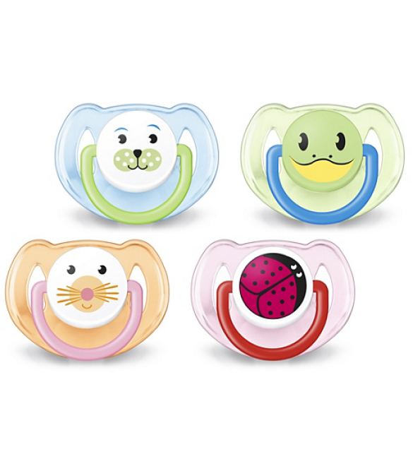 Avent - Soother 6-18M Twin Pack Animal