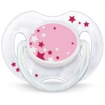 Avent Pacifiers - Night Time - Pink 6-18 Months