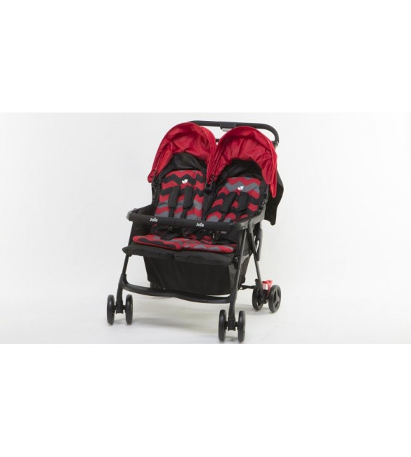 Joie Aire Twin Stroller- LadyBird