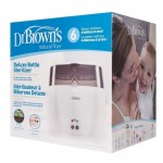 Dr. Brown's Deluxe Electric Bottle Sterilizer w/ Cycle Indicator (Type F plug)