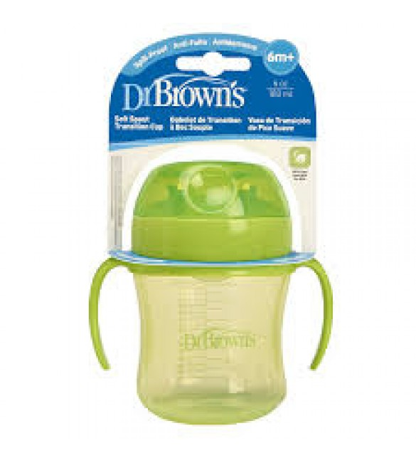 Dr. Brown's Soft Spout Transition Cup-Green