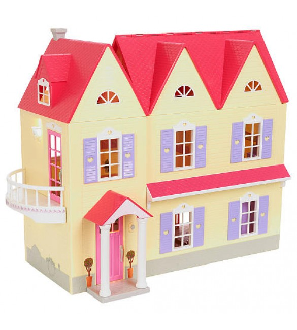 You & Me Happy Together Dollhouse - Pink