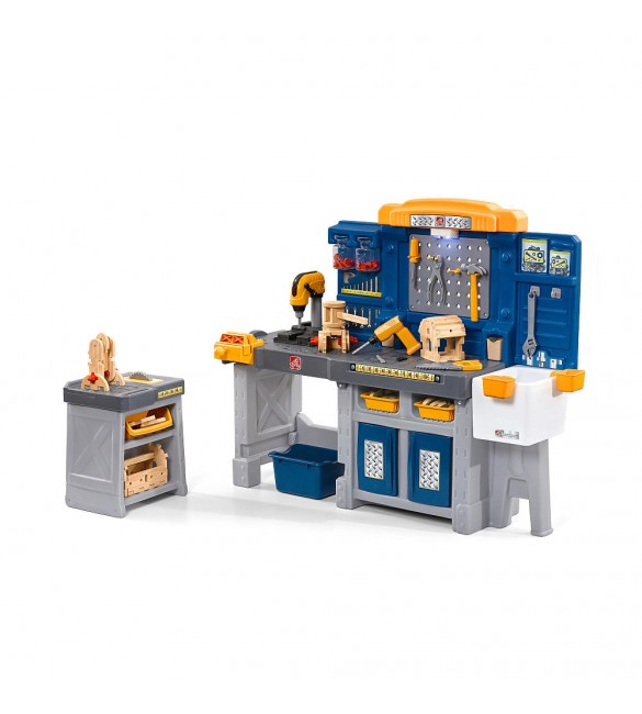 The Just Like Home Workshop Pro Play Workshop & Utility Bench