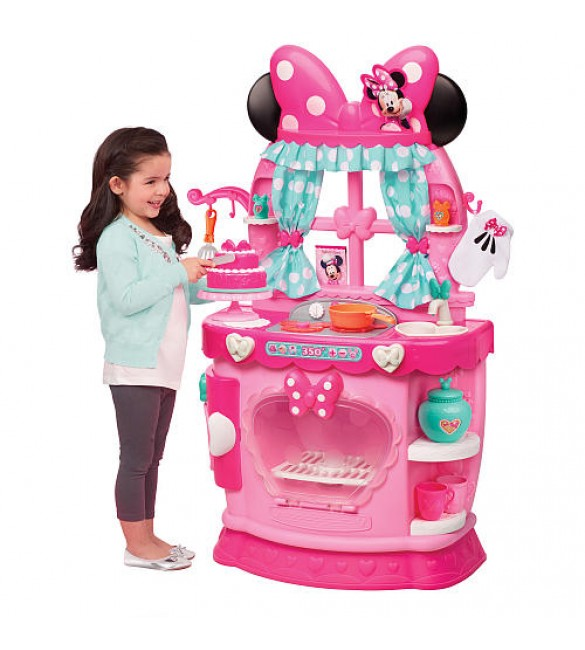 Disney Junior Minnie Sweet Surprises Kitchen Playset - Pink