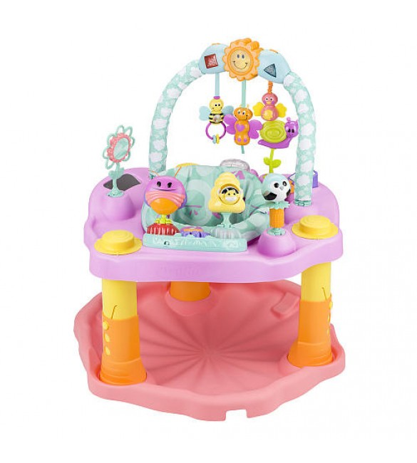Evenflo ExerSaucer Double Fun Bumbly Activity Center - Pink