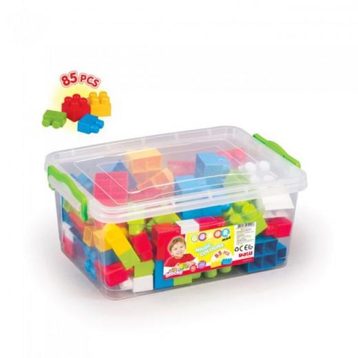 Dolu Big Block in Plastic Box 85 Pcs