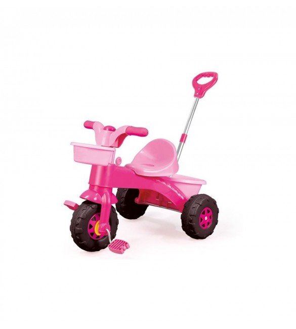 My First Trike Parent Handle-Pink