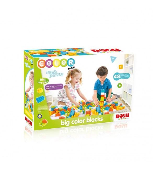 Dolu Big Colored Blocks-48