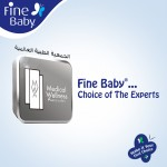 Fine Baby Super Dry - Smart Lock, Size 4 Large, 7-17 Kg, 30 PCS