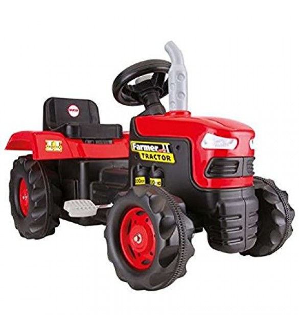 Dolu Tractor Pedal Operated-Red