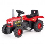 Dolu Tractor Pedal Operated - Red
