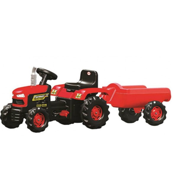 Dolu Tractor Pedal Operated with Trailer