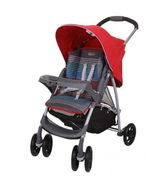 Graco Mirage Stroller-pepper Stripe