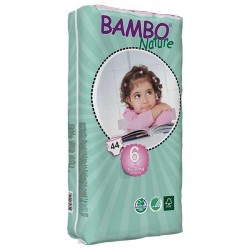 Bambo Nature Baby Diapers Classic, Size 6 (16-30Kg), 44 Count