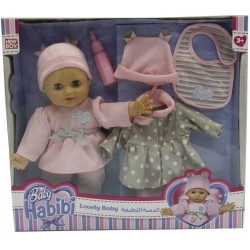 "Baby Habibi Basic 13"" Loving Baby Set2"