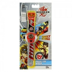 BAKUGAN 5 FUNCTION LCD WATCH MULTI-PROJECTOR