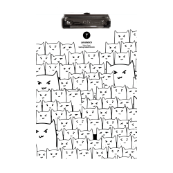 YM Sketch-Cats Clipboard