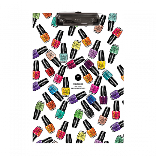 YM Sketch-Nail Polish Clipboard