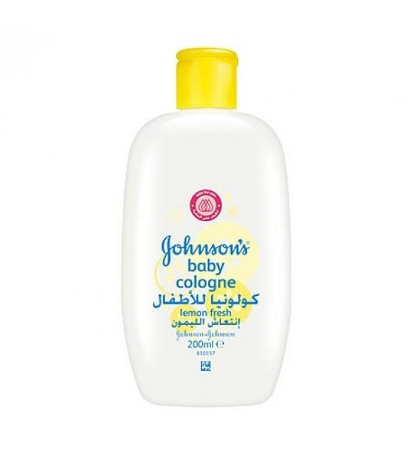Johnson's Baby Cologne Lemon Fresh 200ml
