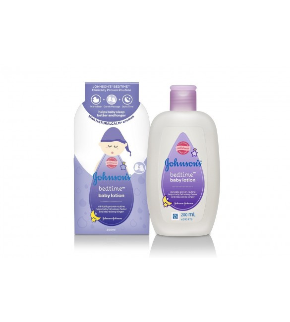 Johnson's Bedtime Baby Lotion (200ml)