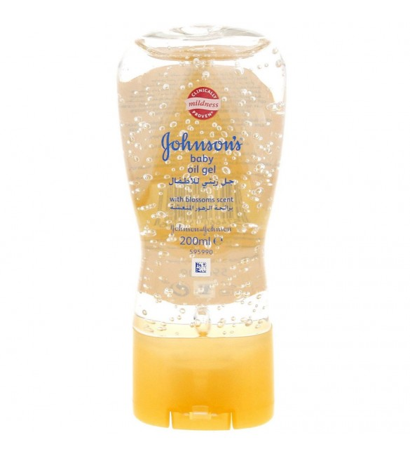 Johnson's Baby Oil Blossom Gel 200 ml