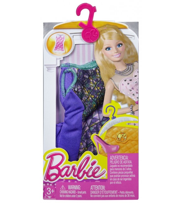 BARBIE FASHION AND BEAUTY  -  FASHIONS DRESS AST - 5