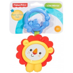 Fisher-Price CBL16 Peek-a-Boo Lion Mirror Rattle Toy