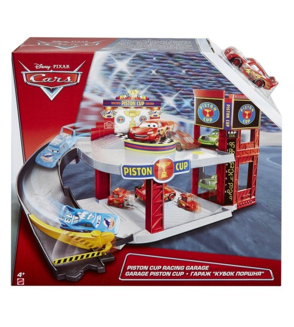 Mattel DWB90 Disney Pixar Cars Piston Cup Racing Garage