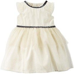 Carter's Sparkle Tiered Tulle Dress- 3 Months