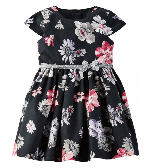 Carter's Floral Sateen Dress-6M