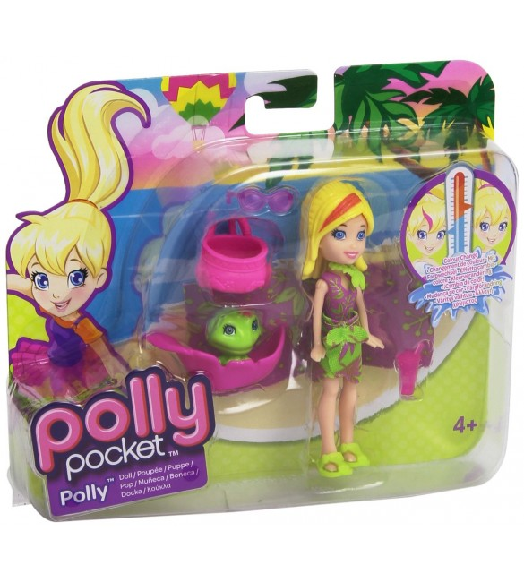 Polly Pocket - Zip 'n Splash - Color Change - POLLY