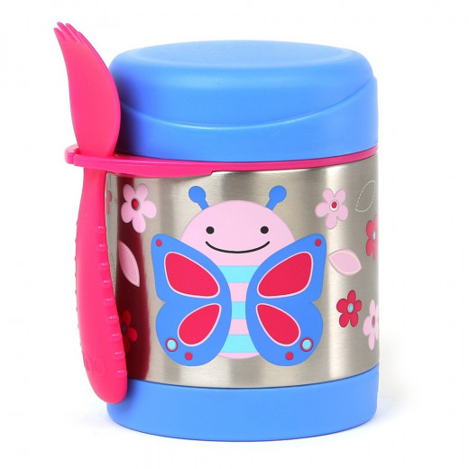 Skip Hop Zoo Insulated Food Jar - Butterfly