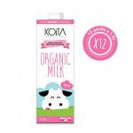 Koita Organic Skimmed Milk 1 LT x12