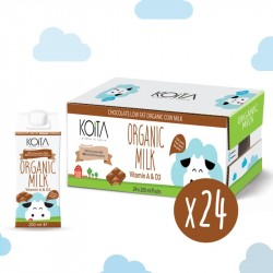 Koita Organic Low Fat Chocolate Milk 200 ml x24
