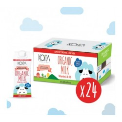 Koita Organic Low Fat Milk 200 ml x24