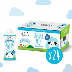 Koita Organic Whole Milk 200 ml x24