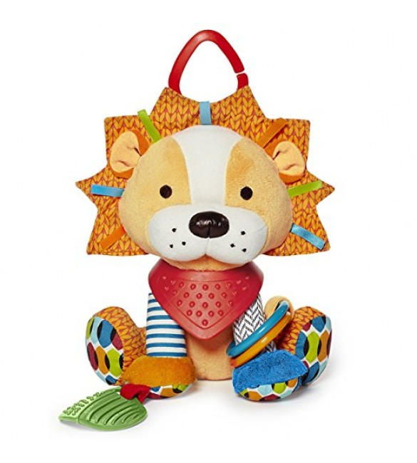 Skip Hop Bandana Buddies Soft Activity Toy, Lion
