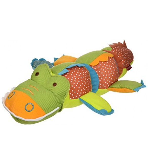 Skip Hop Giraffe Safari Twist and Smile Toy, Crocodile