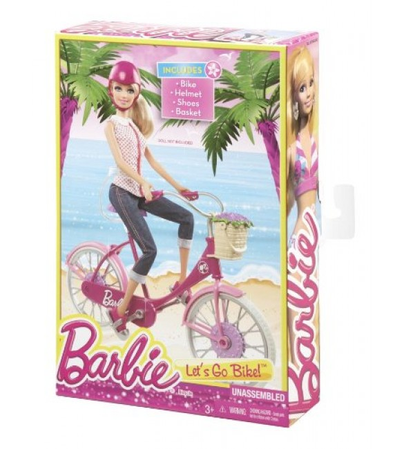 Barbie On The Go - Bike Accessory Pack