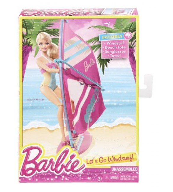 Barbie On The Go - Windsurf Accessory Pack