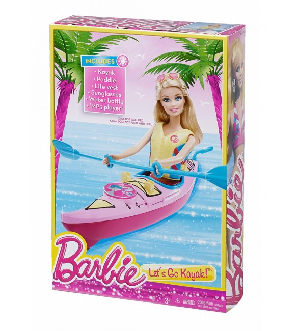 Barbie On The Go - Kayak Accessory Pack