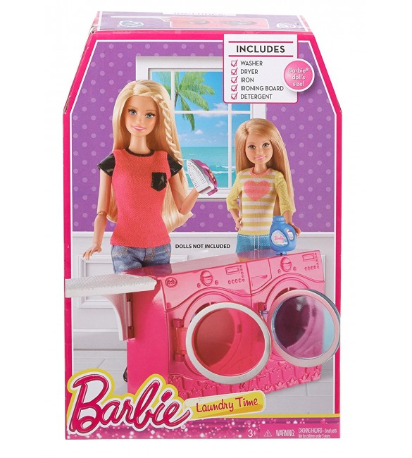 Barbie Story Starter Laundry Room Playset