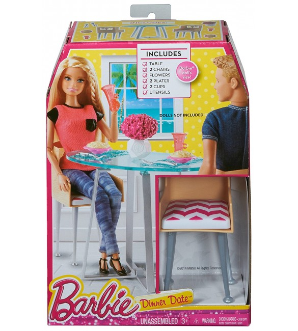 Barbie Story Starter Dinner Date Playset