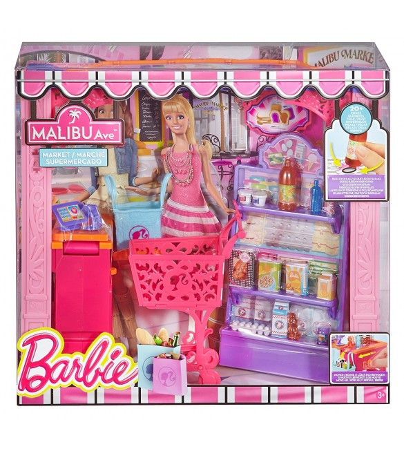 Barbie - Malibu Ave: Market